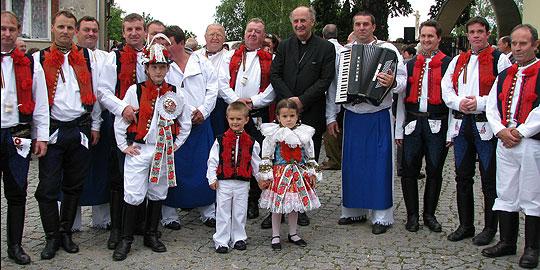 ... s P. Janem Graubnerem … 17.8.2008... foto: Alena Hrabalová