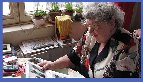 ... u paní Olgy Hrabalové-Kadlčíkové v Brně ... 23.8.2008... foto: Šána III.