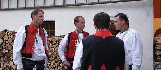... Vítek, Jožka, Josef a Libor … 23.8.2008... foto: Šána III.